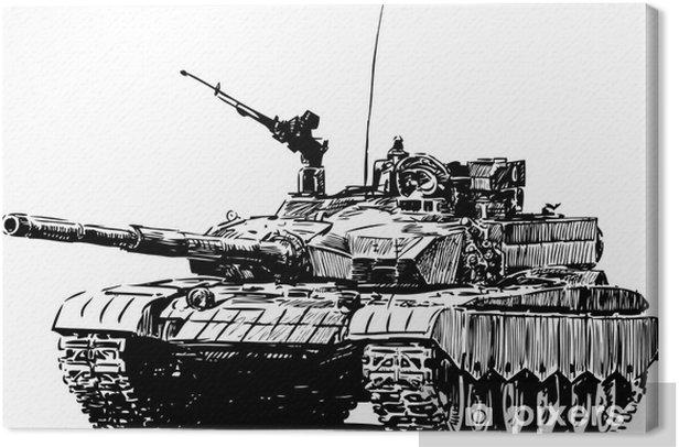 Obraz na płótnie Maszyna wojskowa - Tematy