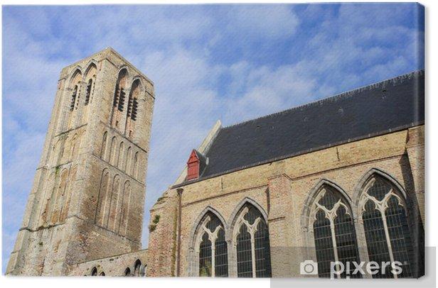 Obraz na płótnie Matki Bożej Kościół (Kościół Matki Boskiej) tamy / belgien - Europa