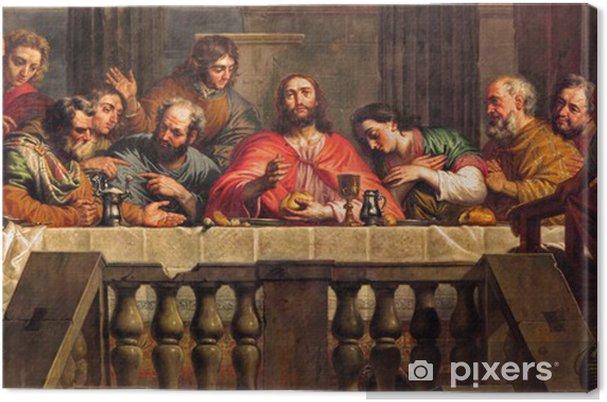 Obraz na płótnie Mechelen - Ostatnia Wieczerza w kościele Matki Bożej w całej de Dyle. - Tematy