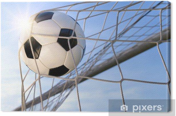 Obraz na płótnie Mecze piłki nożnej, w słoneczne niebo - Piłka nożna
