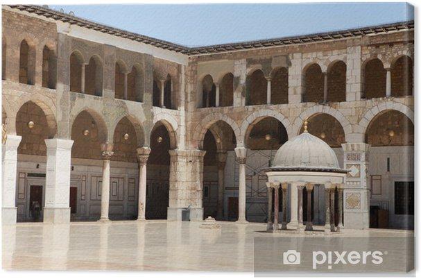 Obraz na płótnie Meczet Umajjadów w Damaszku, Syria. - Bliski Wschód
