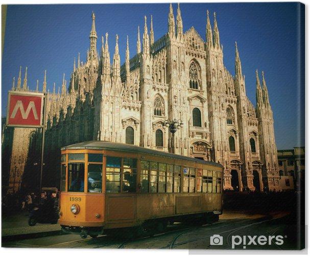 Obraz na płótnie Mediolan - Pejzaż miejski