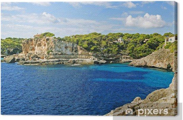 Obraz na płótnie Mediterranean Bay - Europa