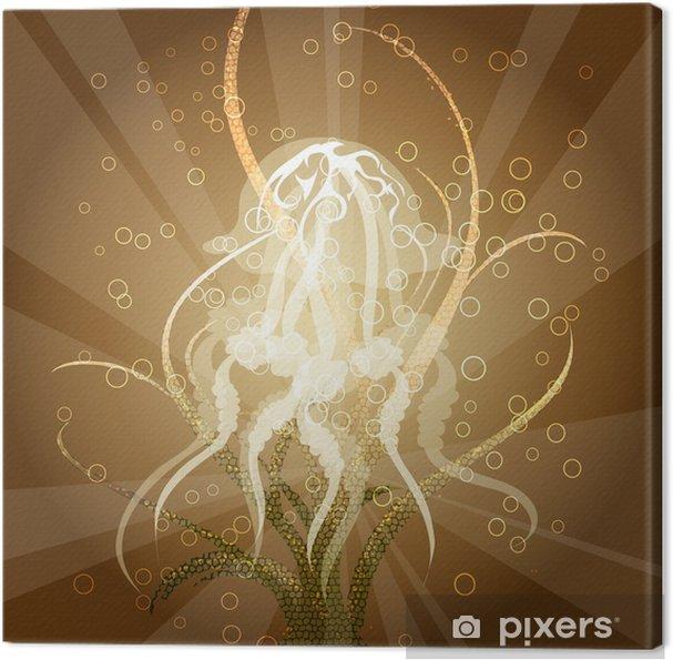 Obraz na płótnie Meduza - Fikcyjne zwierzęta