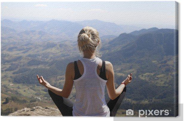 Obraz na płótnie Medytacja - Inne Inne