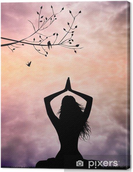 Obraz na płótnie Medytacja - Zdrowie