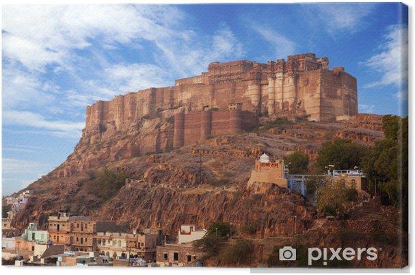 Obraz na płótnie Mehrangarh Fort w Jodhpur, Rajasthan, - Azja