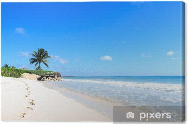 Obraz na płótnie Meksykańska plaża - Ameryka