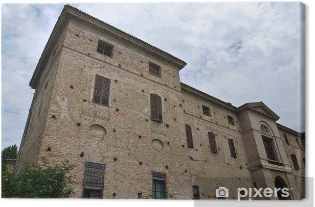 Obraz na płótnie Meli Lupi Fortress of Soragna. Emilia-Romania. Włochy. - Wakacje