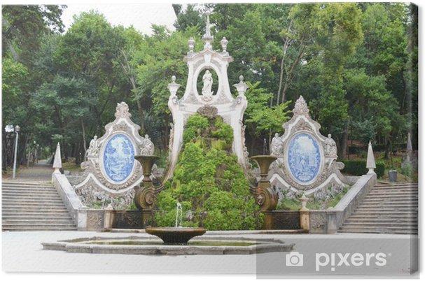 Obraz na płótnie Mermaid Ogród - Coimbra Portugalia - Fikcyjne zwierzęta