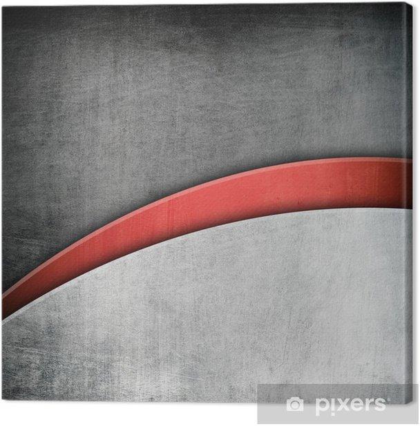 Obraz na płótnie Metalowe tła szablonu - Surowce