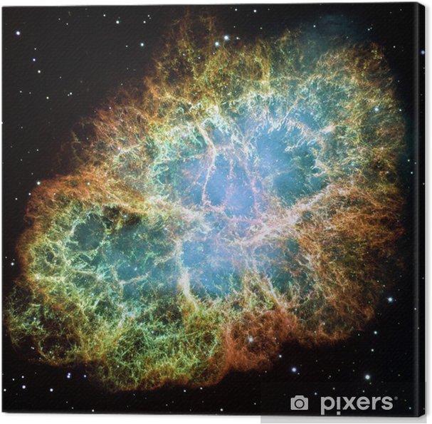 Obraz na płótnie Mgławica Krab - Wszechświat