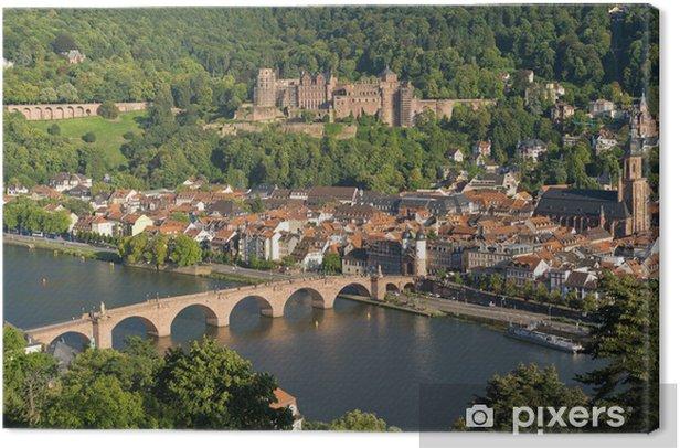 Obraz na płótnie Miasto Heidelberg - Europa