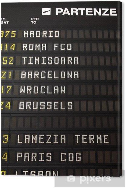 Obraz na płótnie Miejsca na lotnisko: Madryt, Rzym, Barcelona, Lizbona - Transport powietrzny