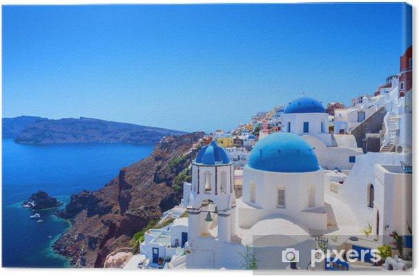 Obraz na płótnie Miejscowości Oia na Santorini - Tematy