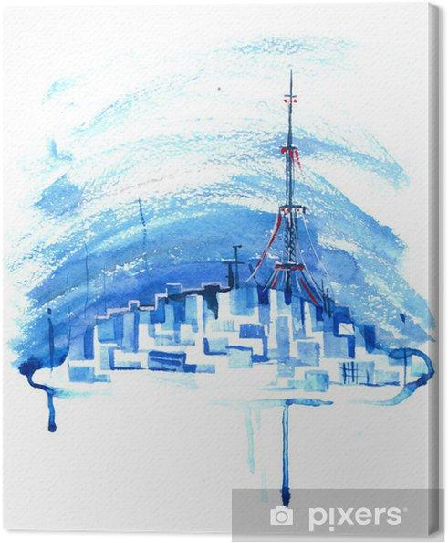 Obraz na płótnie Miejskiego miasta - Sukces i osiągnięcia