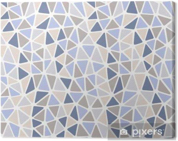 Obraz na płótnie Miękkie krawędzie trójkątów ligth kamienia kolorach powtarzacie - Zasoby graficzne
