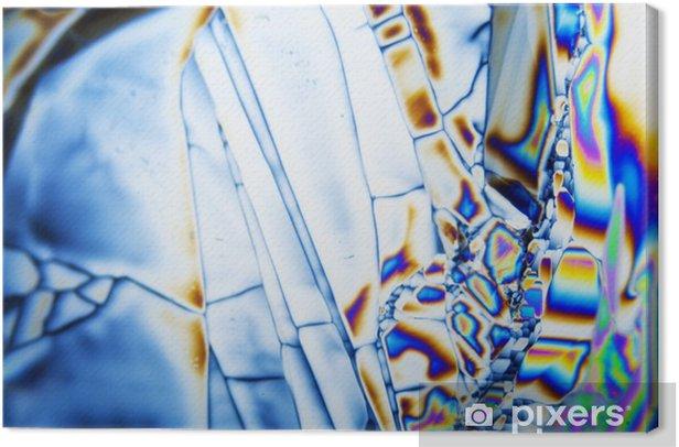 Obraz na płótnie Mikrokristalle - Abstrakcja