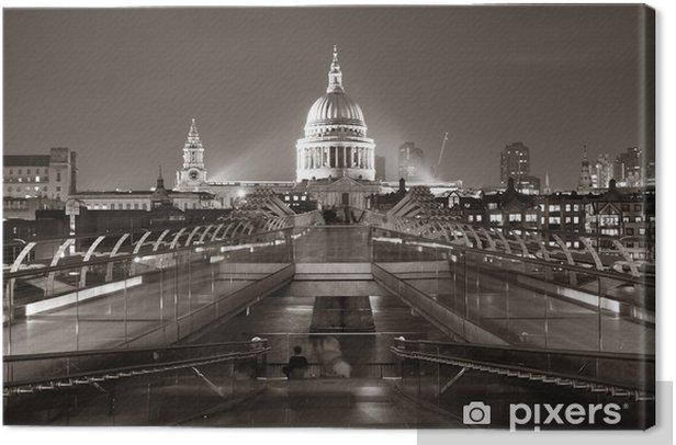 Obraz na płótnie Millennium Bridge i St Pauls - Inne