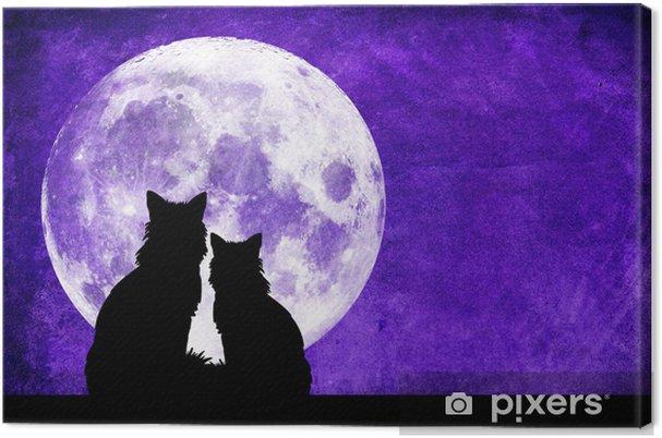 Obraz na płótnie Miłość i księżyc. - Tematy