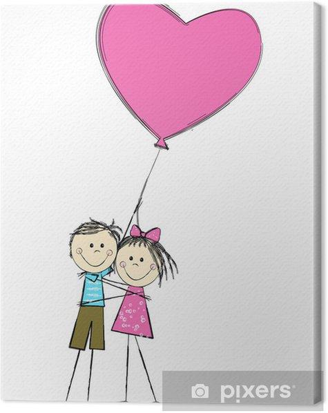 Obraz na płótnie Miłość - Dzieci