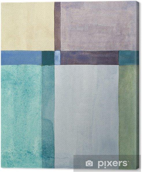 Obraz na płótnie Minimalistyczny malarstwo abstrakcyjne - Sztuka i twórczość