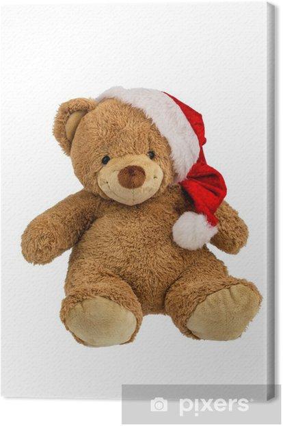 Obraz na płótnie Miś prezenty świąteczne - Święta międzynarodowe