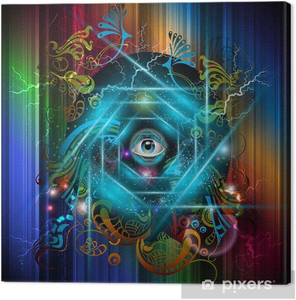 Obraz na płótnie Mistyczny obraz - Religie