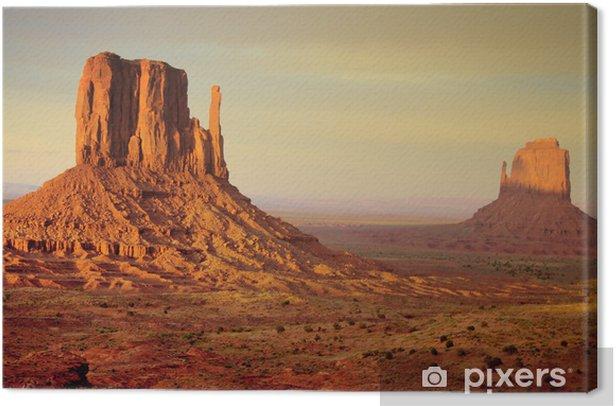 Obraz na płótnie Mitten Buttes Monument Valley - Pustynie