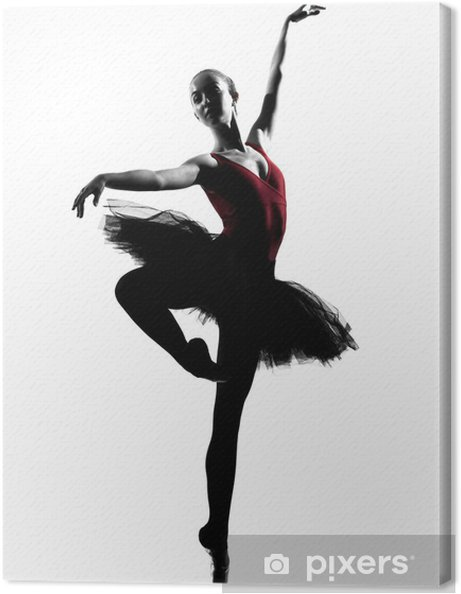 Obraz na płótnie Młoda kobieta balet tancerz - Tematy