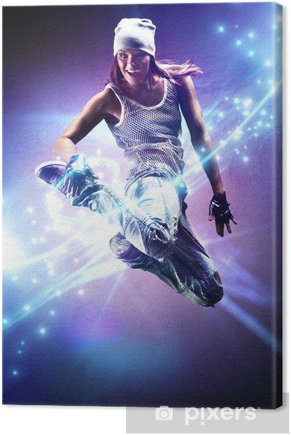 Obraz na płótnie Młoda kobieta tancerka - Tematy
