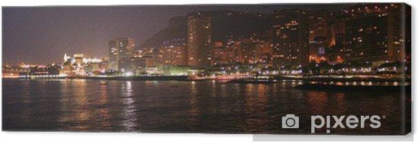 Obraz na płótnie Monaco przez nuit - Czas