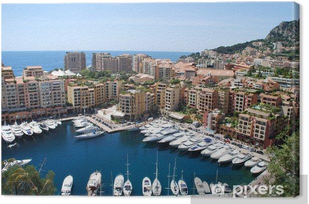 Obraz na płótnie Monaco - Woda