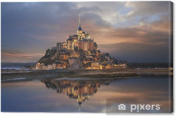 Obraz na płótnie Mont Saint Michel - Tematy