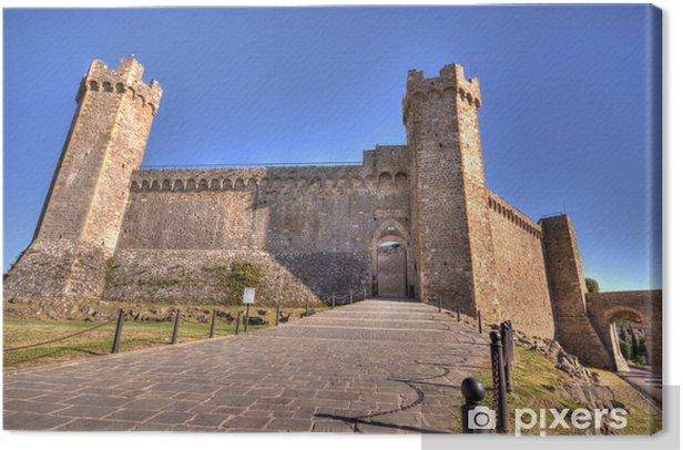 Obraz na płótnie Montalcino Zamek - Europa