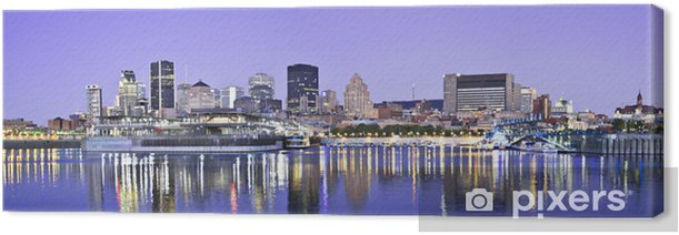 Obraz na płótnie Montreal panorama - Inne pejzaże