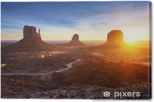 Obraz na płótnie Monument Valley w sunrise - Tła