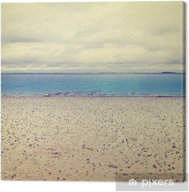 Obraz na płótnie Morze Północne - Pory roku