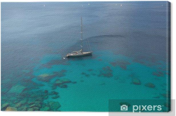 Obraz na płótnie Morze Śródziemne - Wakacje