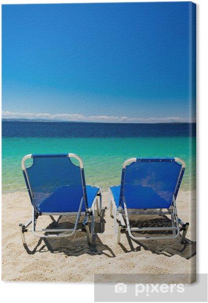 Obraz na płótnie Morze w Grecji - Pory roku