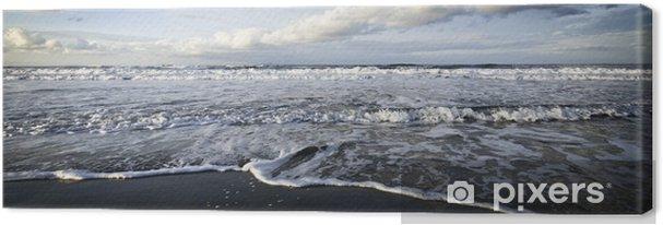 Obraz na płótnie Morze zima dramatyczny - Ekologia