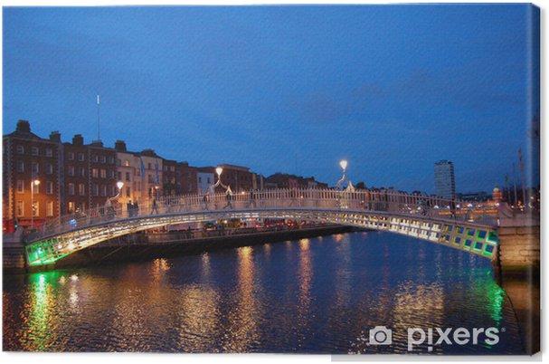 Obraz na płótnie Most dla pieszych - Wakacje