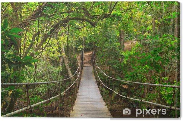 Obraz na płótnie Most do dżungli, Tajlandia - Przeznaczenia