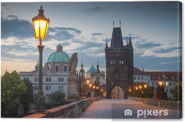 Obraz na płótnie Most karola praga - Praga