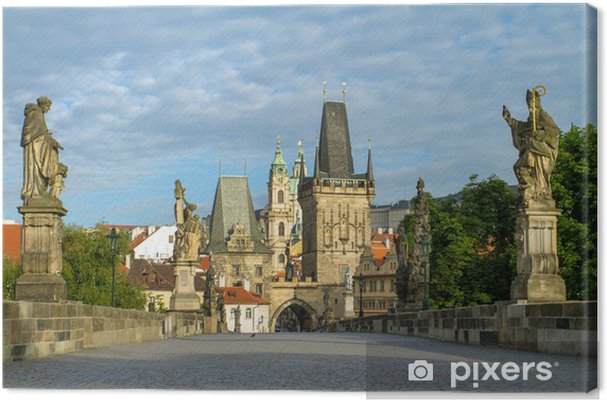 Obraz na płótnie Most Karola w Pradze, Republika Czeska - Europa