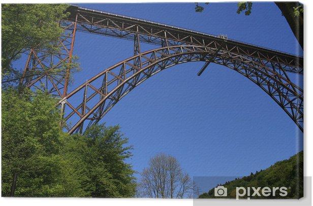 Obraz na płótnie Most kolejowy w Bridge Park Müngsten w Solingen - Transport drogowy