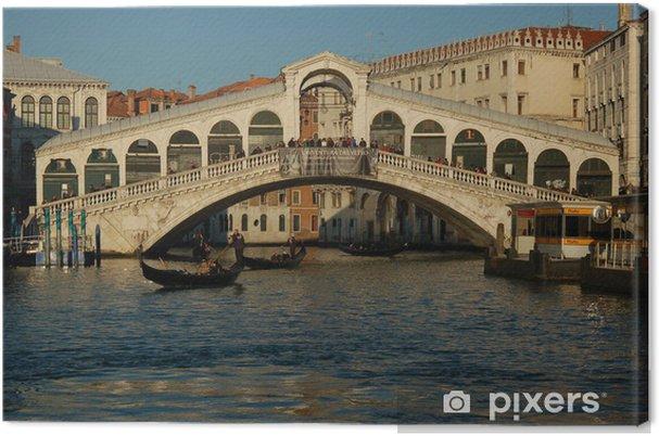 Obraz na płótnie Most Rialto - Europa