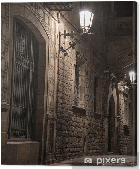 Obraz na płótnie Most w Bishop Street w Barri Gotic, Barcelona - Tematy