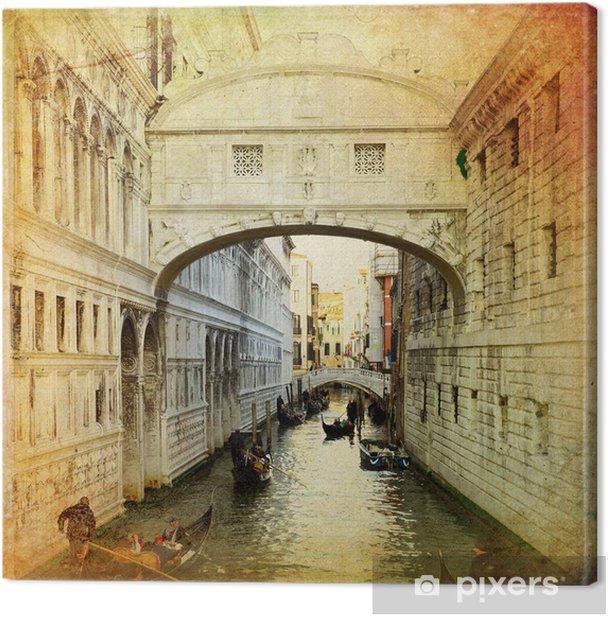 Obraz na płótnie Most Westchnień - Wenecja - Tematy