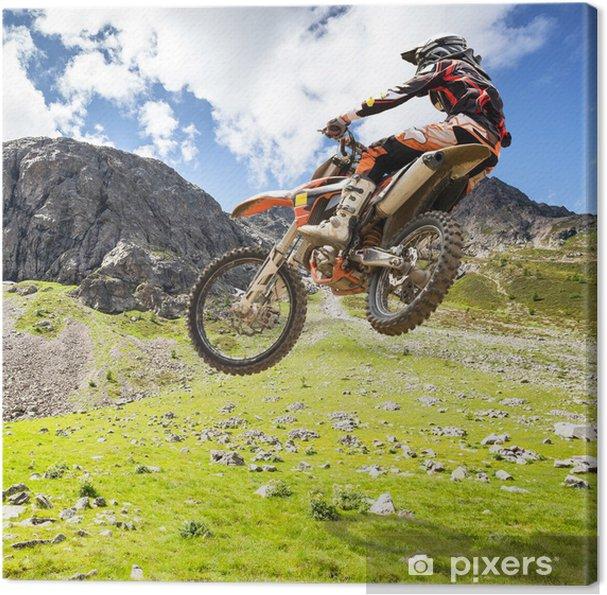 Obraz na płótnie Motocross na zewnątrz - Sporty ekstremalne